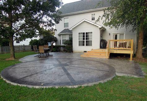 sanotint vs palette by nature concrete patios patios