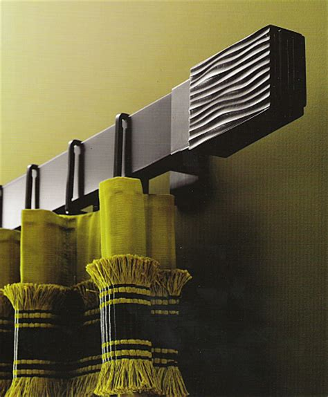 curtain rods modern design houles drapery rods the designer insider