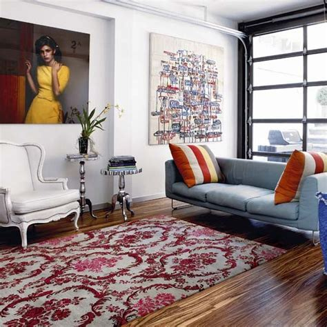 New York Style Living Room by Living Room Designer Style New York Town House Tour