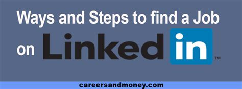 That Help You Find A Ways And Steps Linkedin Can Help You Find A