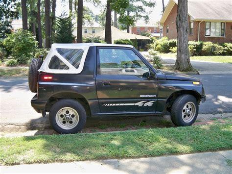 Suzuki Sidekick 1994 Mudkick09 S 1994 Suzuki Sidekick In Duck Nc