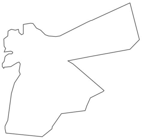 geo map asia jordan