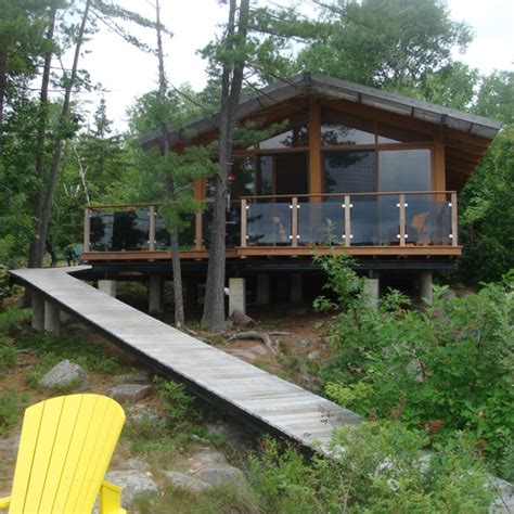 river cottage with passive solar modern house designs