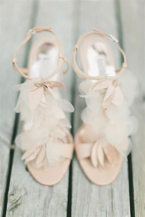brautschuhe in rosa blush hochzeitsschuhe sandalen mit