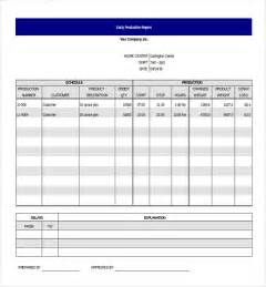 Free Daily Report Template by Daily Report Templates Selimtd