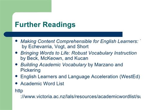 bringing words to second edition robust vocabulary avatar vocabulary chapter 3 vocabulary