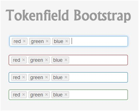 tutorial bootstrap tags input tokenfield jquery tag token plugin for bootstrap