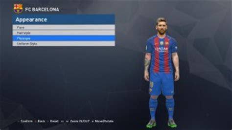 messi tattoo mod pes 2017 messi tattoo mod by fathurohman alief pes patch