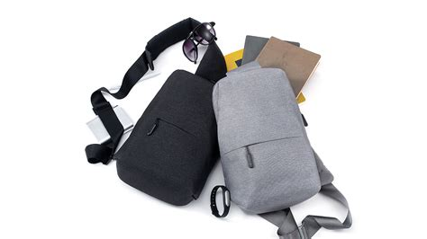 Ori Xiaomi Multifunctional Chest Pack Crossbody Bag Shoulder Backpack original xiaomi mi multifunctional u end 6 18 2018 3 15 pm
