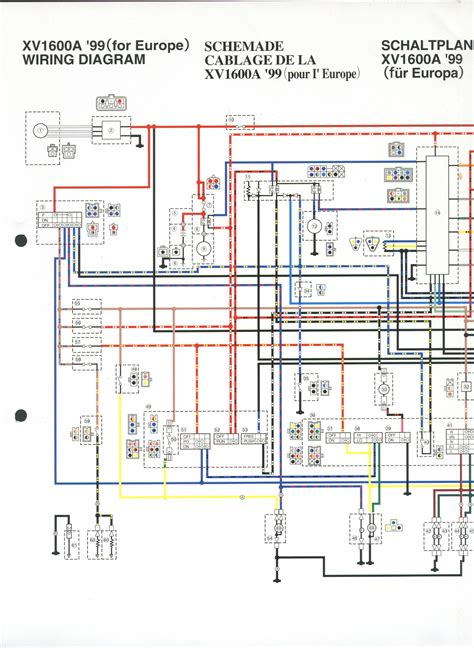 yamaha 1100 wiring diagrams wiring diagrams