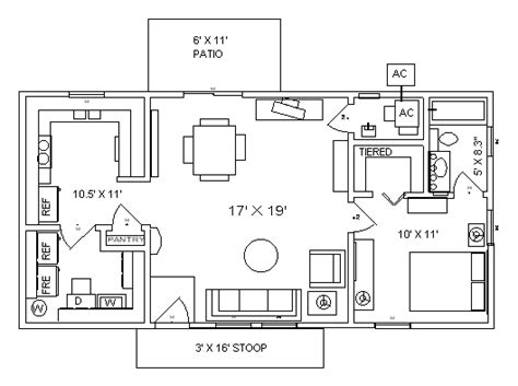 20 x 40 house plans 800 square feet cambridge 20x40 home