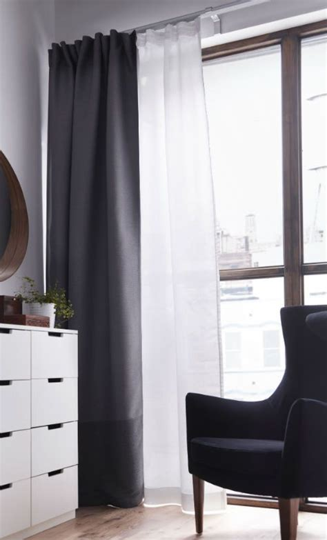 bedroom curtains ikea best 25 layered curtains ideas on pinterest window