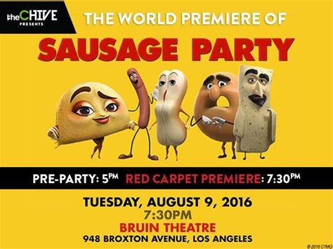 Sausage Party Meme - come watch sausage party with us at the official world