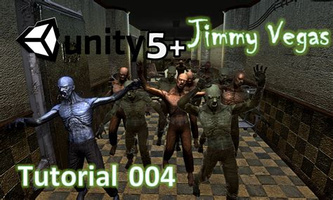 unity tutorial zombie how to make a zombie horde game part 004 jimmy vegas