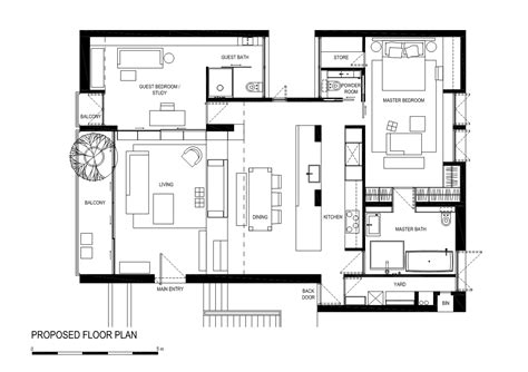 a floor plan architecture photography proposed floor plan 200296