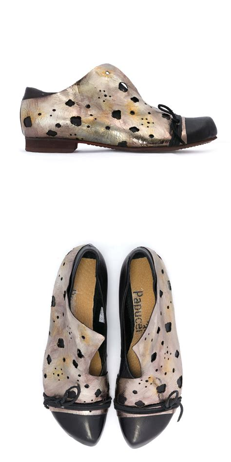 papucei awara black metallic shoe papucei from idaretobe