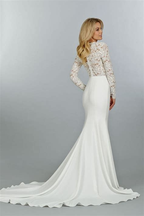 10 long sleeved wedding dresses perfect for fall or winter
