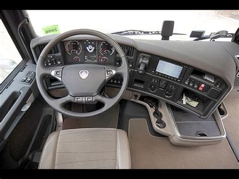 scania r topline interieur scania r440 interior wnętrze scanii r440 euro5 youtube