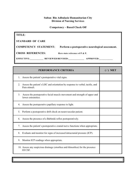 neuro template pdf nursing assessment form to toe assessment form for