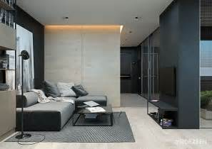 Monochromatic Apartment monochromatic studio apartment inspiration trendy mods com