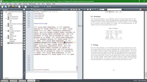 tutorial latex texstudio citing with biblatex from jabref to the bibliography