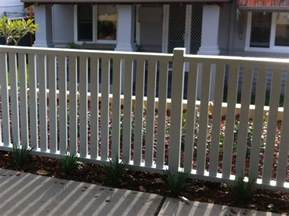 timber picket fence designs