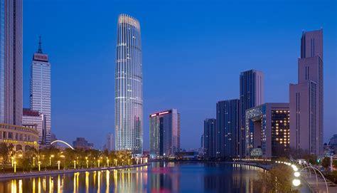 modern city tianjin modern city office tower