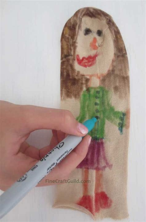 How To Make A Puppet Out Of A Paper Bag - diy sock puppet