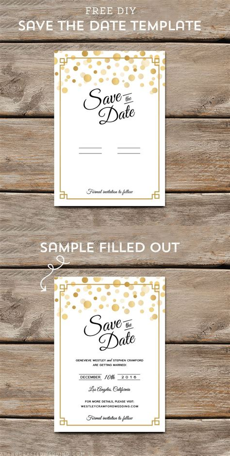 46 Best Retirement Party Invites Images On Pinterest Retirement Save The Date Template