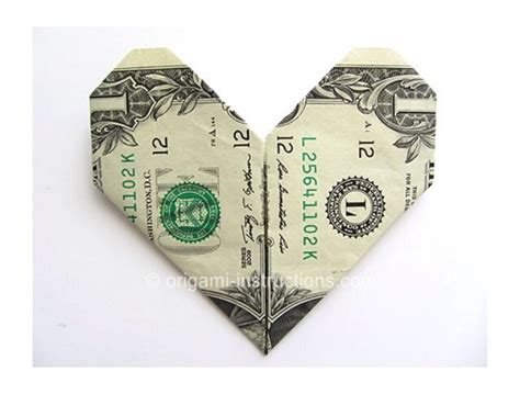 Easy Dollar Bill Origami - easy dollar bill origami trusper