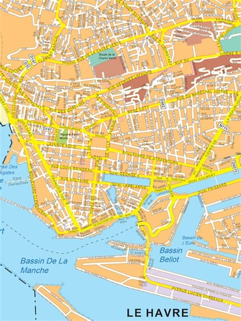 le havre map le havre map eps illustrator map our cartographers