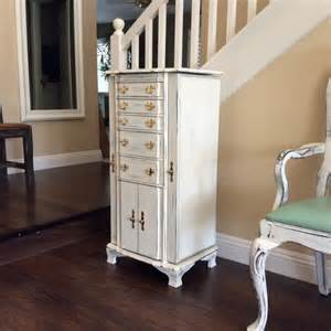 large white jewelry armoire for sale jewelry chest with pink