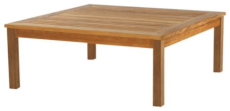 classic square coffee table by kingsley bate