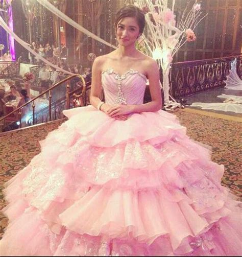 Dress Anak Flower Big debut gown wedding gowns