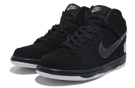new arrivals nike dunk white black apple high tops nike