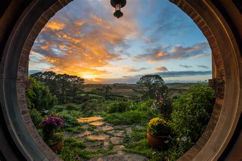 Pictures Of Homes by Hobbiton Movie Set Shaun Jeffers Photography