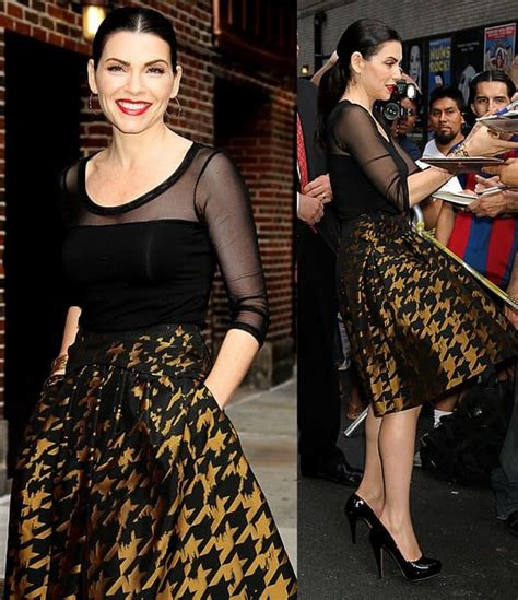 what kind of purse does juianna margolis carry in the good wife how to wear a gold black houndstooth skirt like julianna