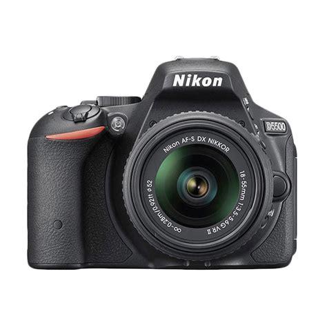 Kamera Nikon D5500 Kit Lens 18 55mm Vr jual nikon d5500 kit af s 18 55mm vr ii kamera dslr hitam harga kualitas terjamin
