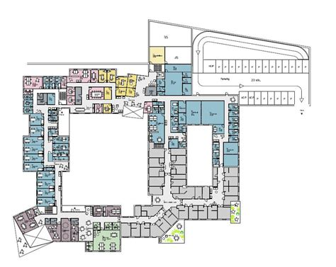 health center floor plan nord architects and 3rw architects wins healthcare center in norway