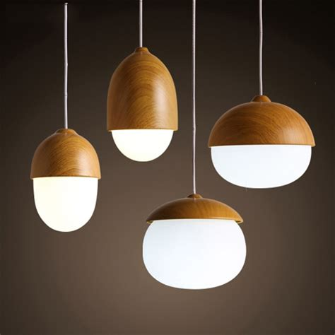 Designer Pendant Lighting Aliexpress Buy American Country Pendant Light Creative Wood Pendant L Glass