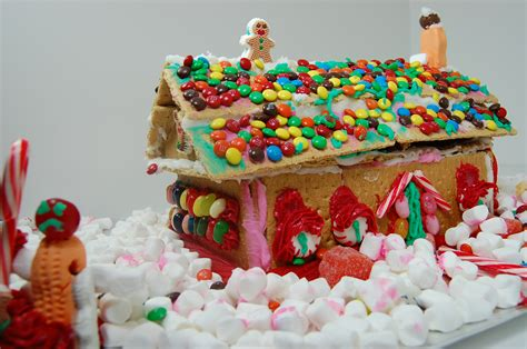 the candy house ugly christmas sweater party vote for your favorite candy house