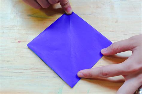 5 Step Origami - how to make an origami square base 5 steps with pictures
