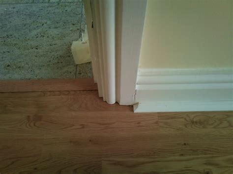 laminate flooring without beading how to undercut architrave floorsave