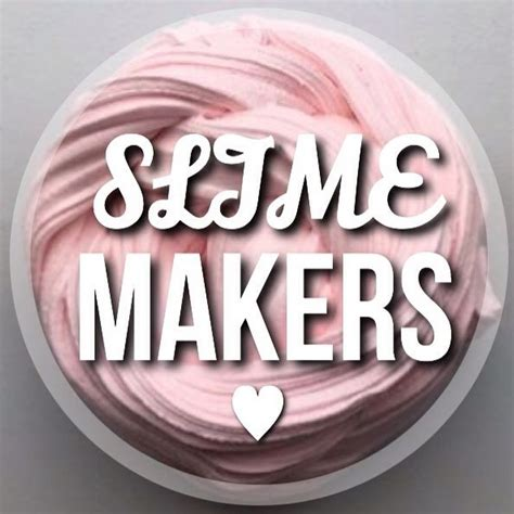 slime makers youtube
