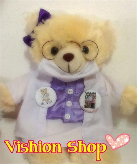 Boneka Wisuda Apoteker boneka wisuda murah boneka profesi teddy dokter