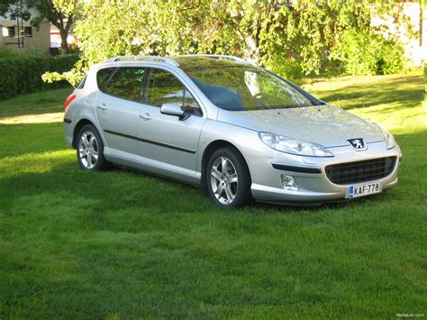 peugeot 407 wagon peugeot 407 sw sport 2 2 5d station wagon 2005 used