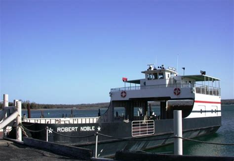 Ferry Door reduced winter schedule for washington island ferry line
