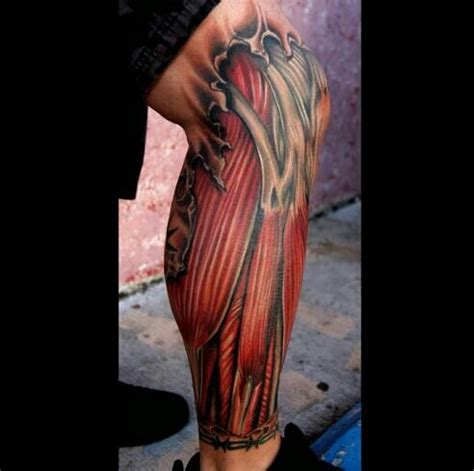 muscle tattoo design for full 60 unique muscle tattoos