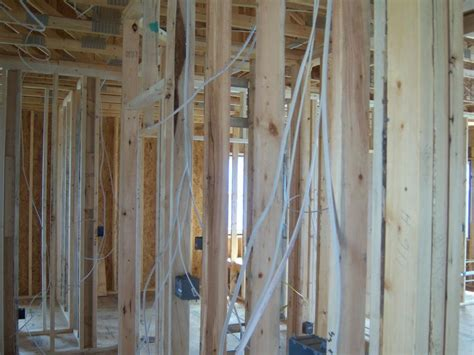 fireplace framing electrical in
