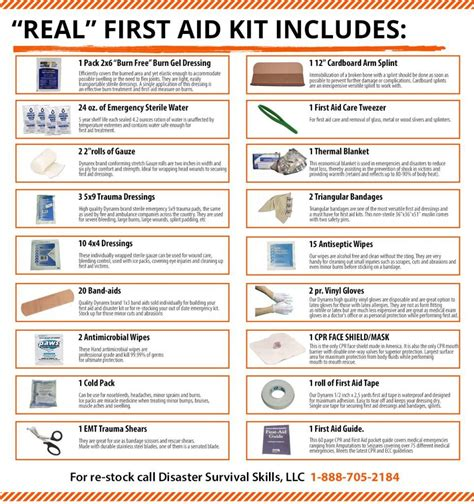 things to buy for first home checklist first aid kit contents list for schools and home with